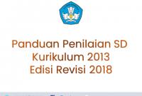 Panduan Penilaian SD Edisi Revisi 2018