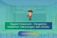 Flipped Classroom : Pengertian, Kelebihan, Kekurangan, Sintaks