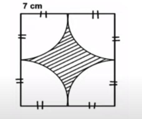 Luas Bagian Diarsir Bangun Datar Gabungan Lingkaran Bdr Kelas 6 Sd Osnipa