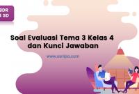 Soal Evaluasi Tema 3 Kelas 4 dan Kunci Jawaban