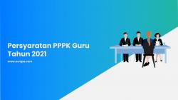 Persyaratan PPPK Guru Tahun 2021