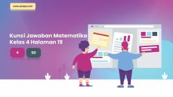 Kunci Jawaban Senang Belajar Matematika Kelas 4 Halaman 19