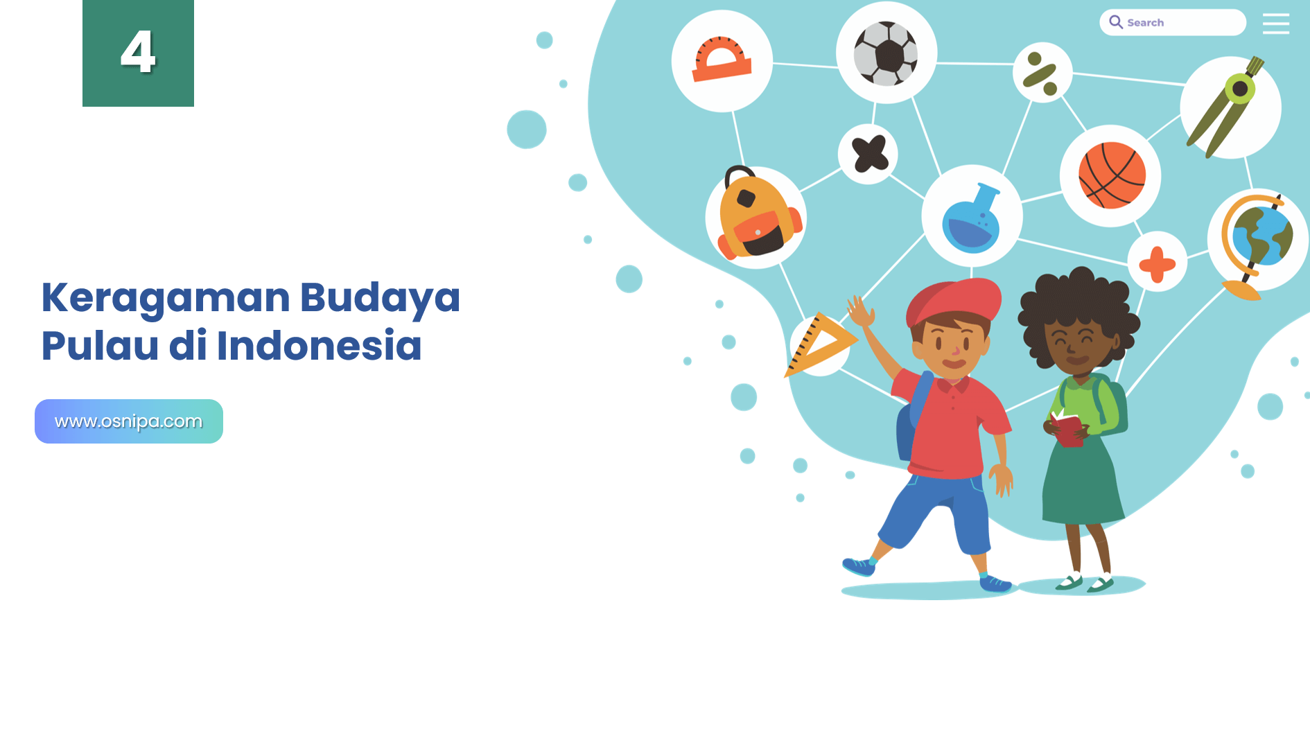 Keragaman Budaya Pulau di Indonesia