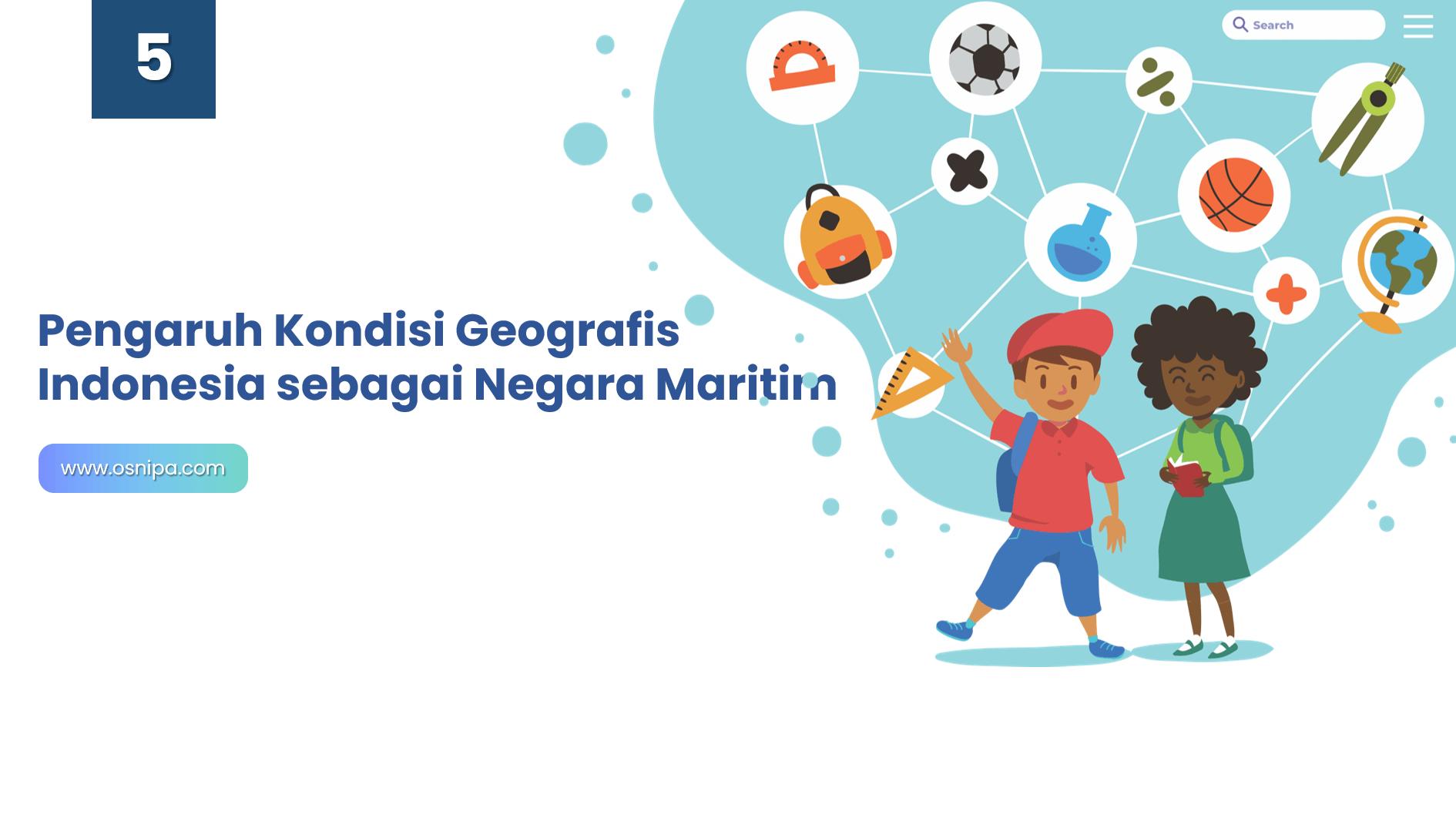 Pengaruh Kondisi Geografis Indonesia sebagai Negara Maritim