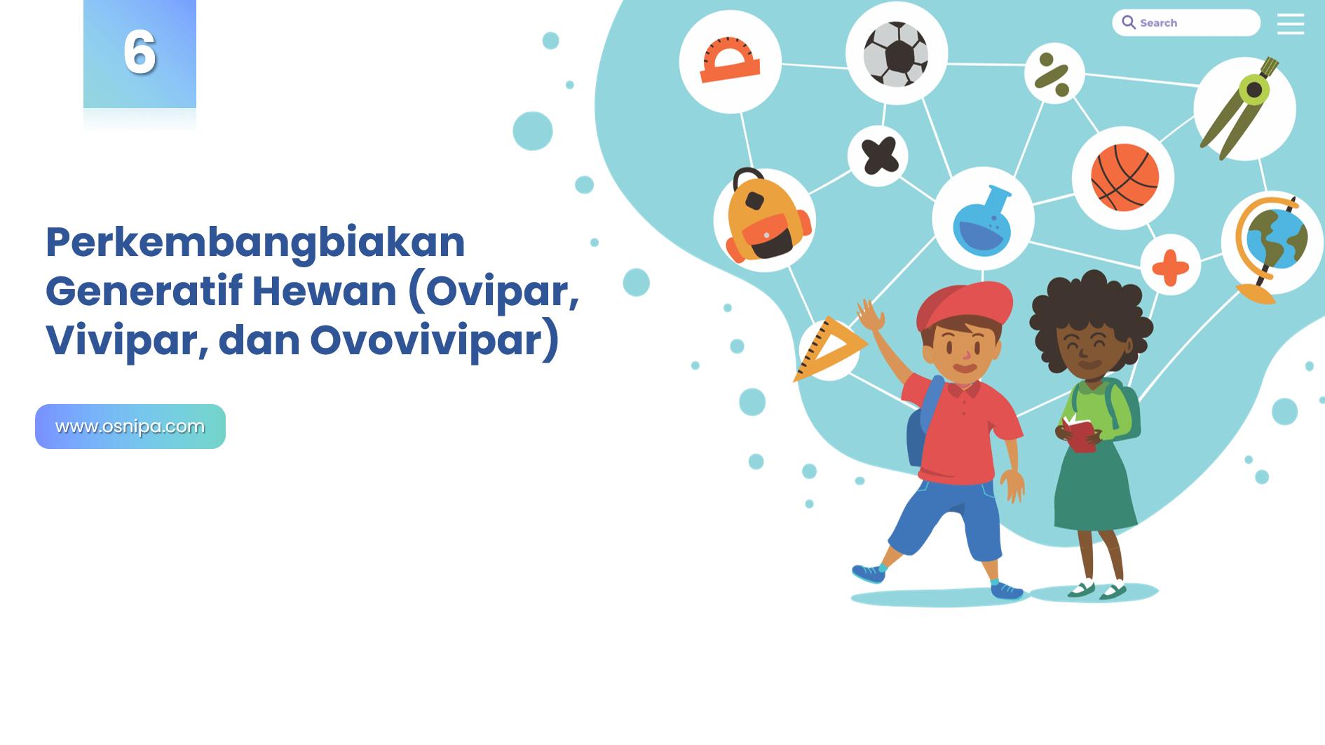 Perkembangbiakan Generatif Hewan (Ovipar, Vivipar, dan Ovovivipar)