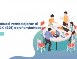 Soal Evaluasi Pembelajaran di SD (PDGK 4301) dan Pembahasan