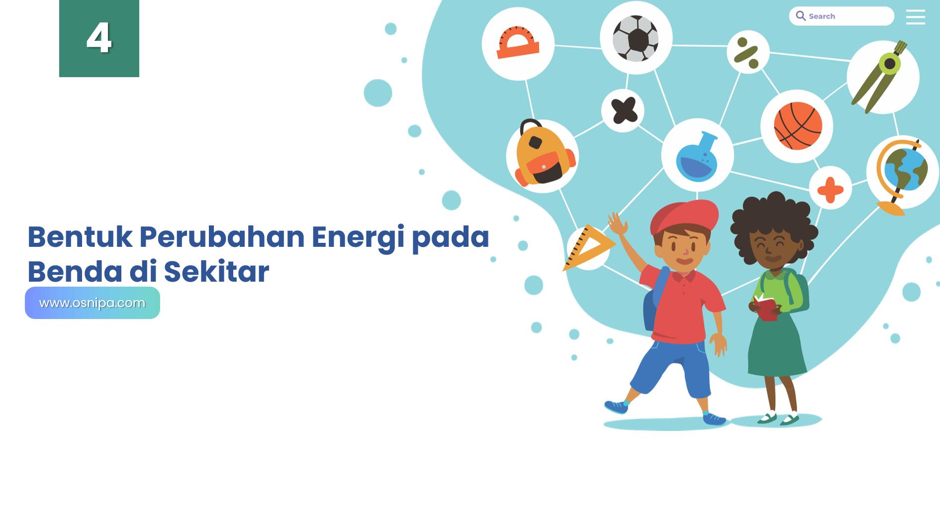 Bentuk Perubahan Energi pada Benda di Sekitar