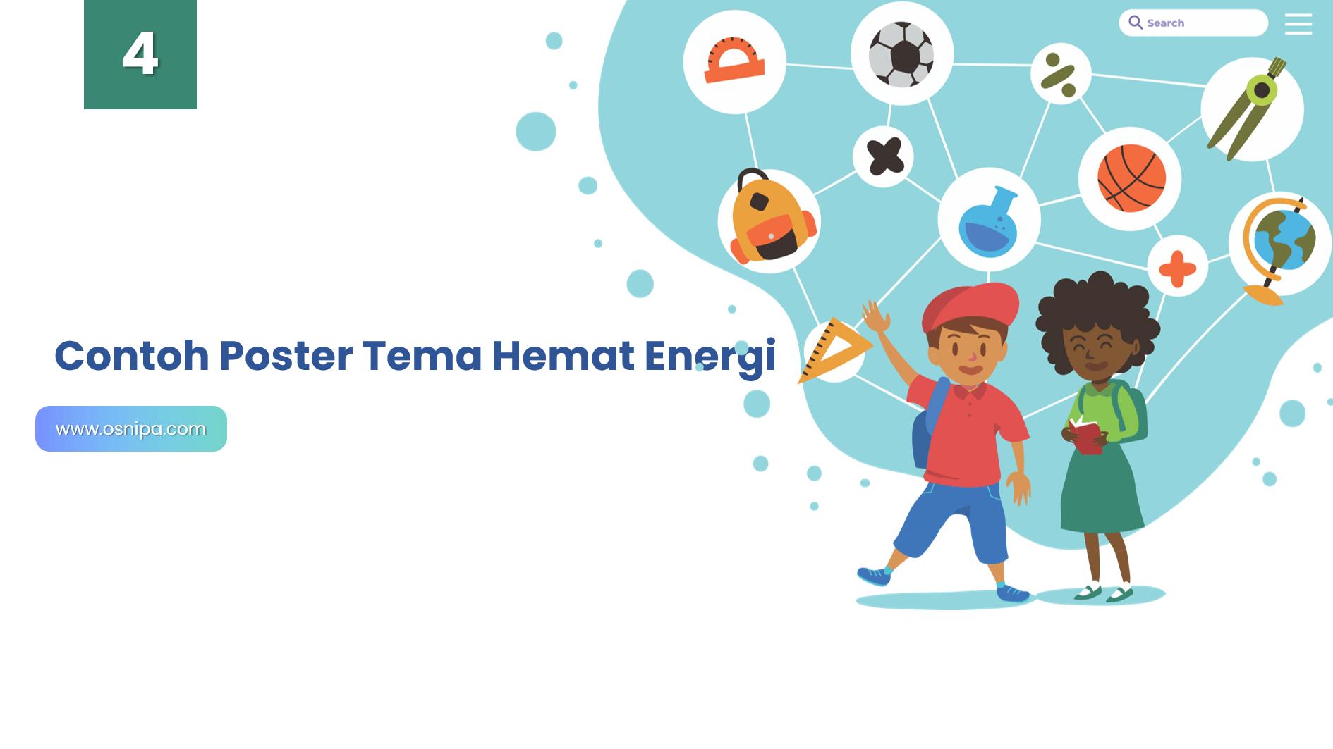 Contoh Poster Tema Hemat Energi