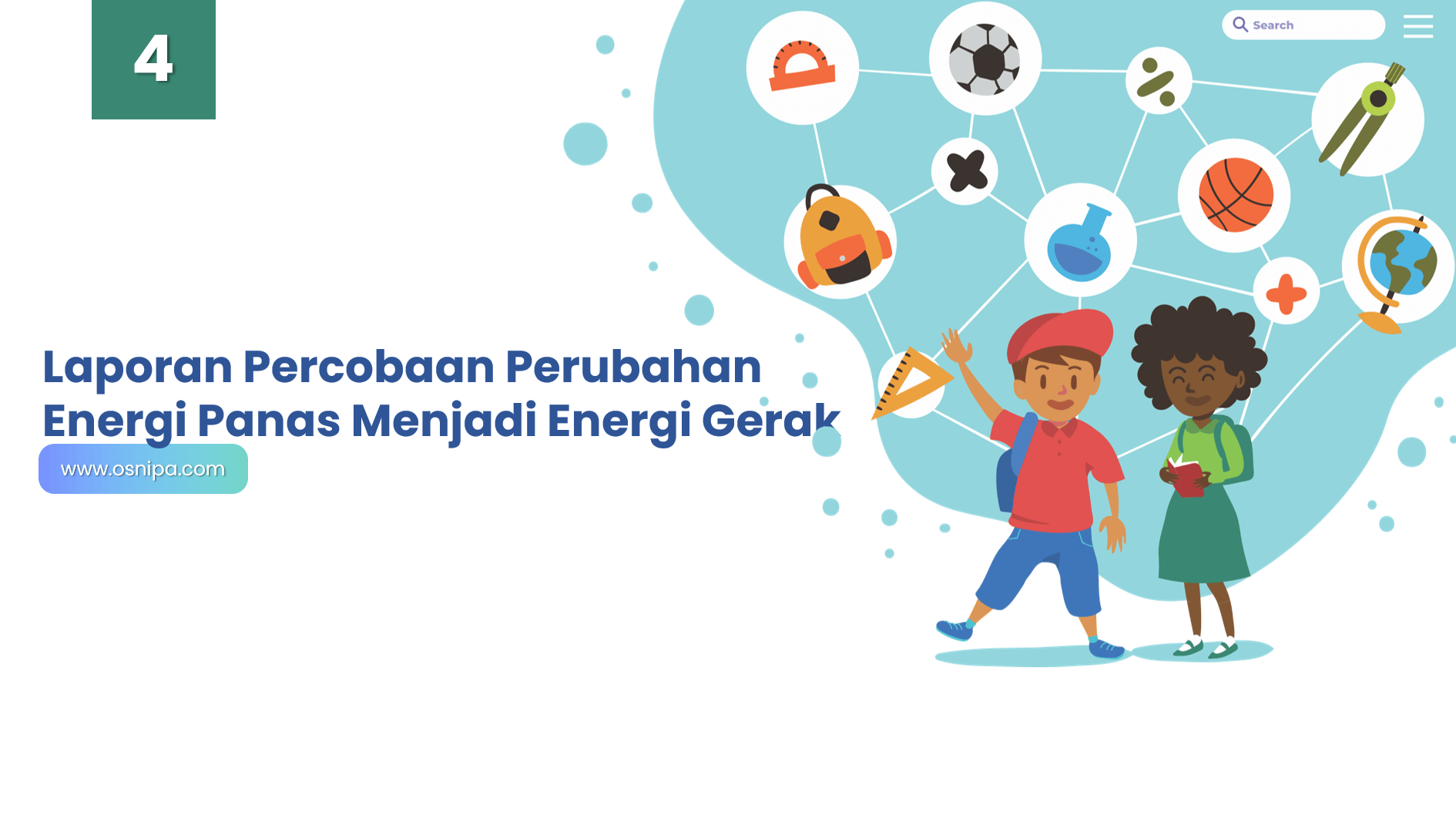 Laporan Percobaan Perubahan Energi Panas Menjadi Energi Gerak