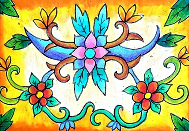 Gambar Dekoratif Tema Tumbuhan