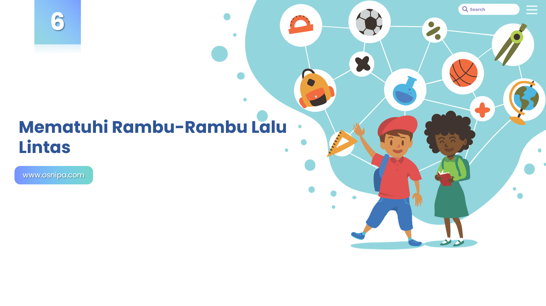 Mematuhi Rambu-Rambu Lalu Lintas
