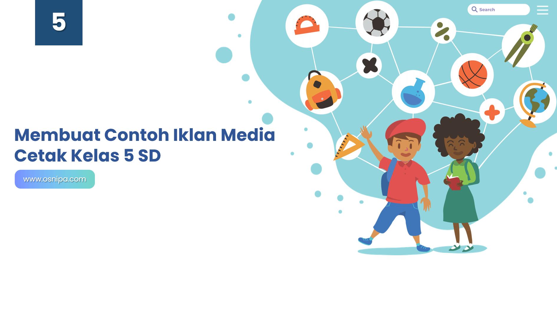 Membuat Contoh Iklan Media Cetak Kelas 5 SD