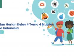 Penilaian Harian Kelas 4 Tema 4 Muatan Bahasa Indonesia