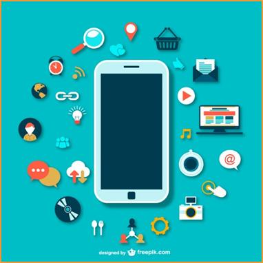 Gambar: Kini ponsel sudah berevolusi menjadi smartphone atau telepon pintar yang berisi banyak fitur canggih seperti mengakses internet, mengirim data, melakukan video call, dan lainnya.